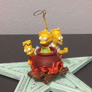 🌸The Simpsons Ornament